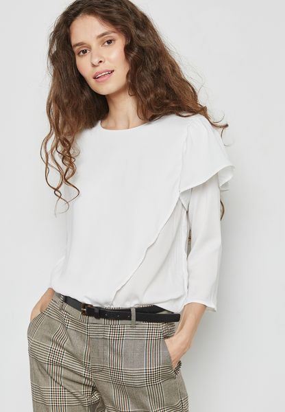Frill Detail Top