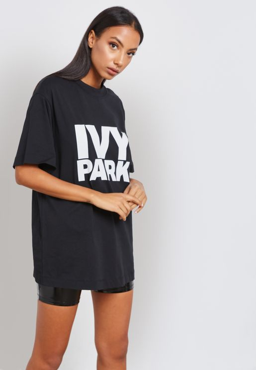 Stacked Logo Oversized T-Shirt