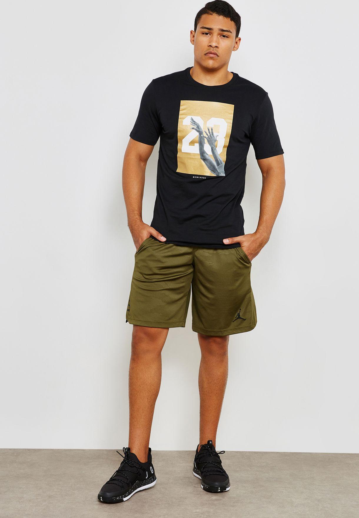 6f308c8791c0 Shop Nike green Jordan Dri-FIT 23 Alpha Shorts AO8857-395 for Men in ...