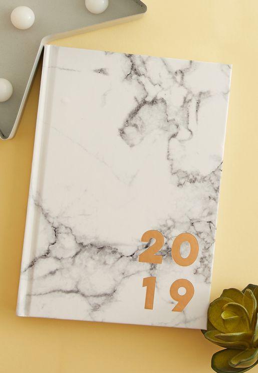 دفتر تخطيط يومي - 2019
