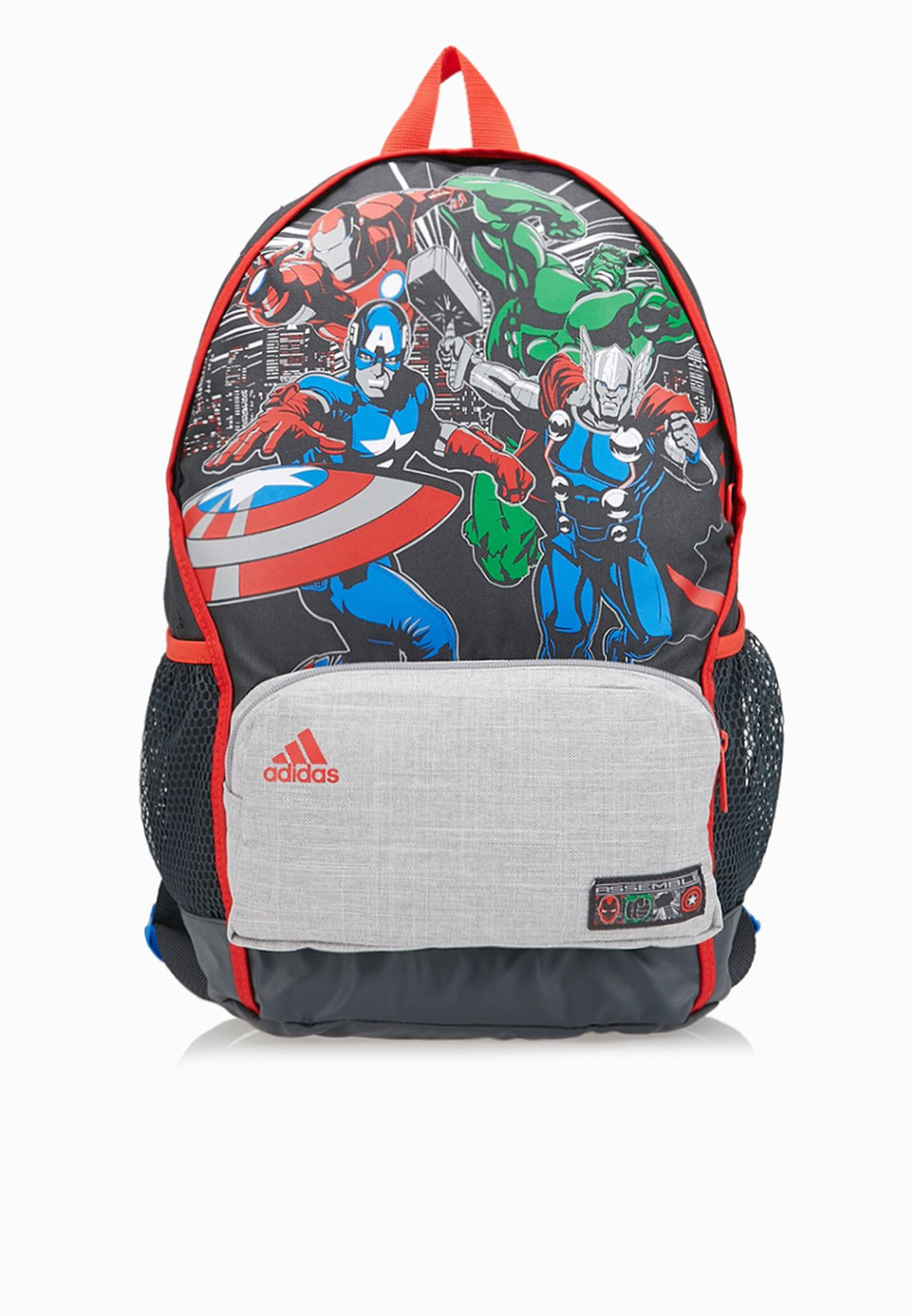 f411203bdadf Shop adidas prints The Avengers Kids Backpack S14690 for Kids in Oman -  AD476AC76IRR