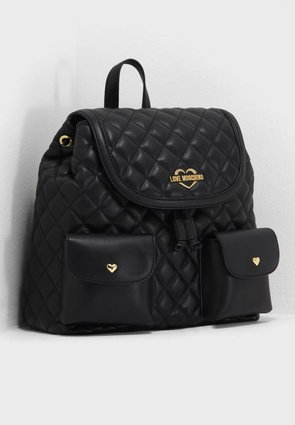 Superquilted Wide Straps Backpack