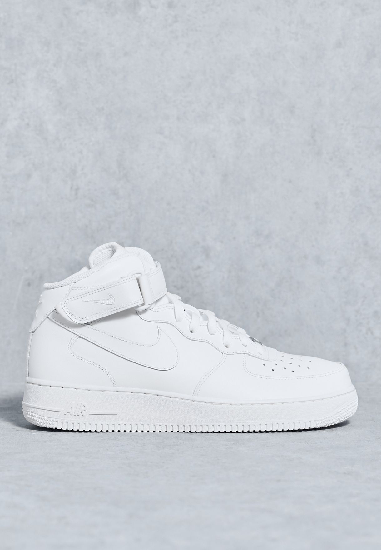 Details about NEW MENS SIZE 12.5 NIKE AIR FORCE 1 MID '07 SHOES SNEAKERS WHITE 315123 111