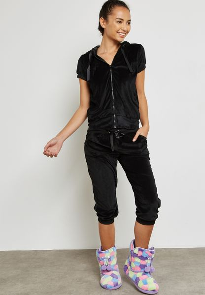 Velvet Pyjama Set