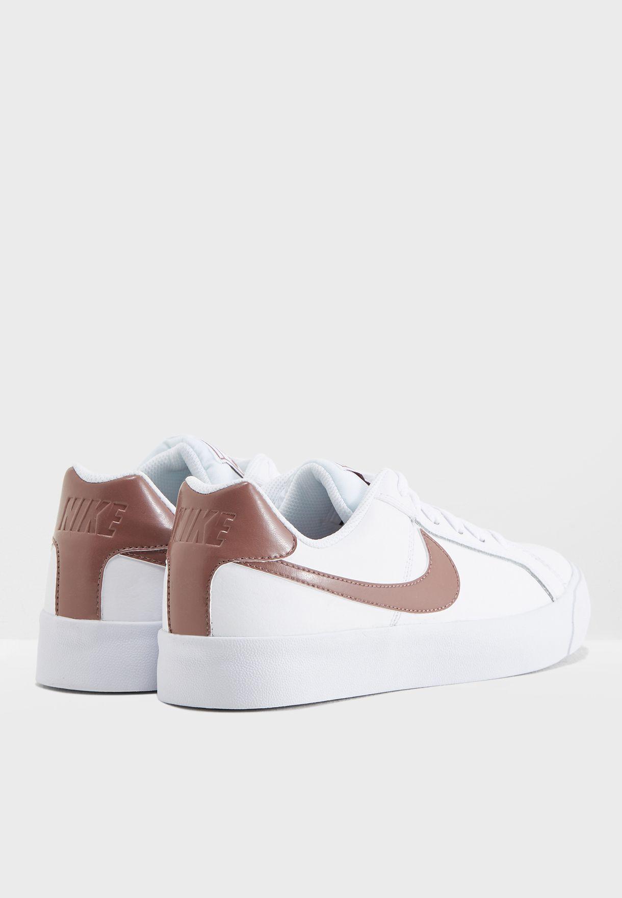 b786f2b7fe5d45 Shop Nike white Court Royale AC AO2810-101 for Women in UAE ...