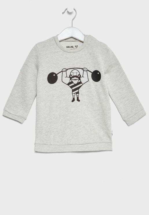 Little Muscle Man Sweater