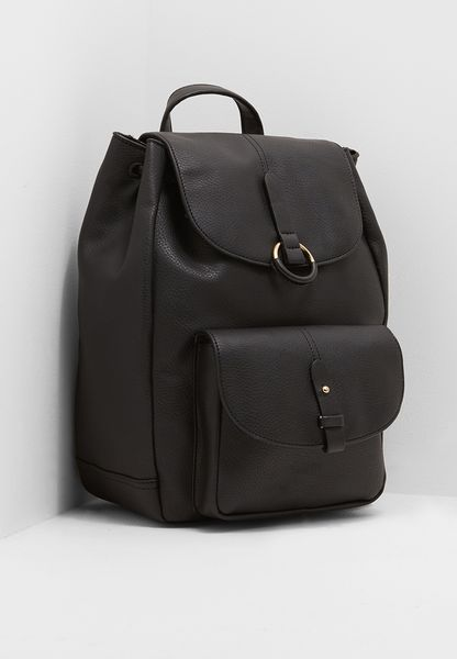 Bailey Ring Detail Backpack