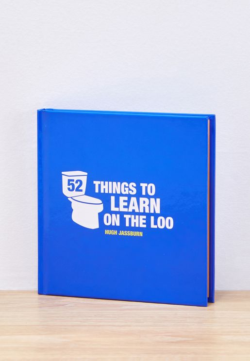 52 Things to Learn on the Loo Book
