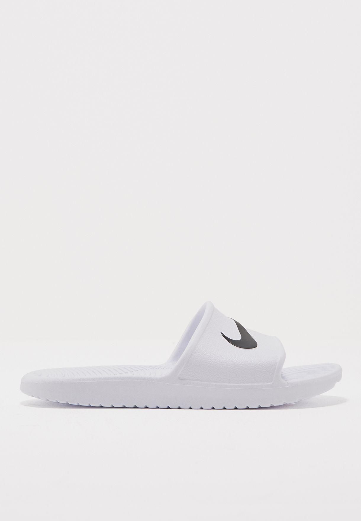 02d8574bb918 Shop Nike white Kawa Shower 832655-100 for Women in UAE - NI727SH76POD
