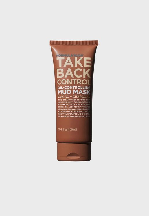 Take Back Control-Oil Controlling Mud Mask