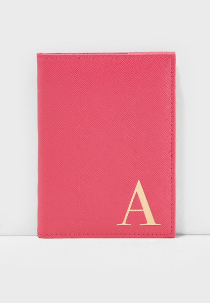 A Letter Passport Cover