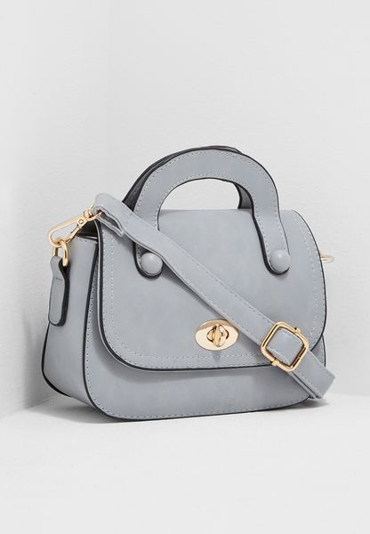 Twist Lock Mini Satchel