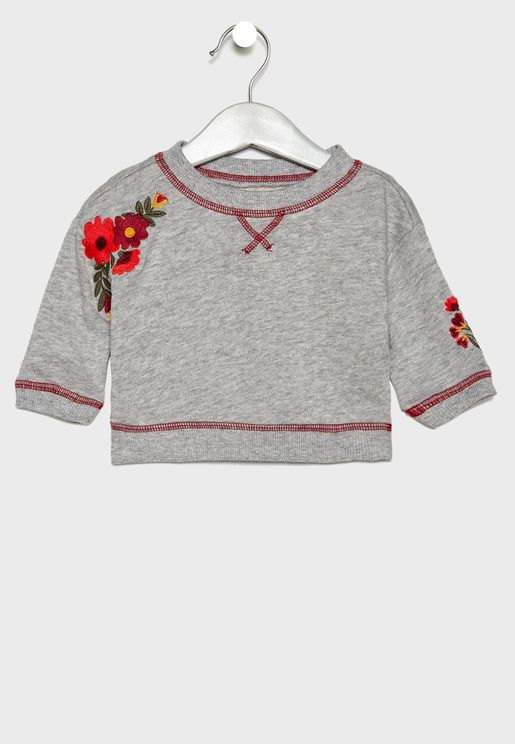 Infant Embroidered Sweater