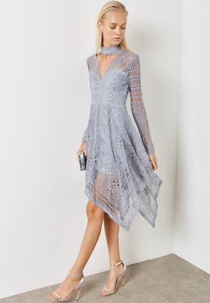 Choker Lace Dress