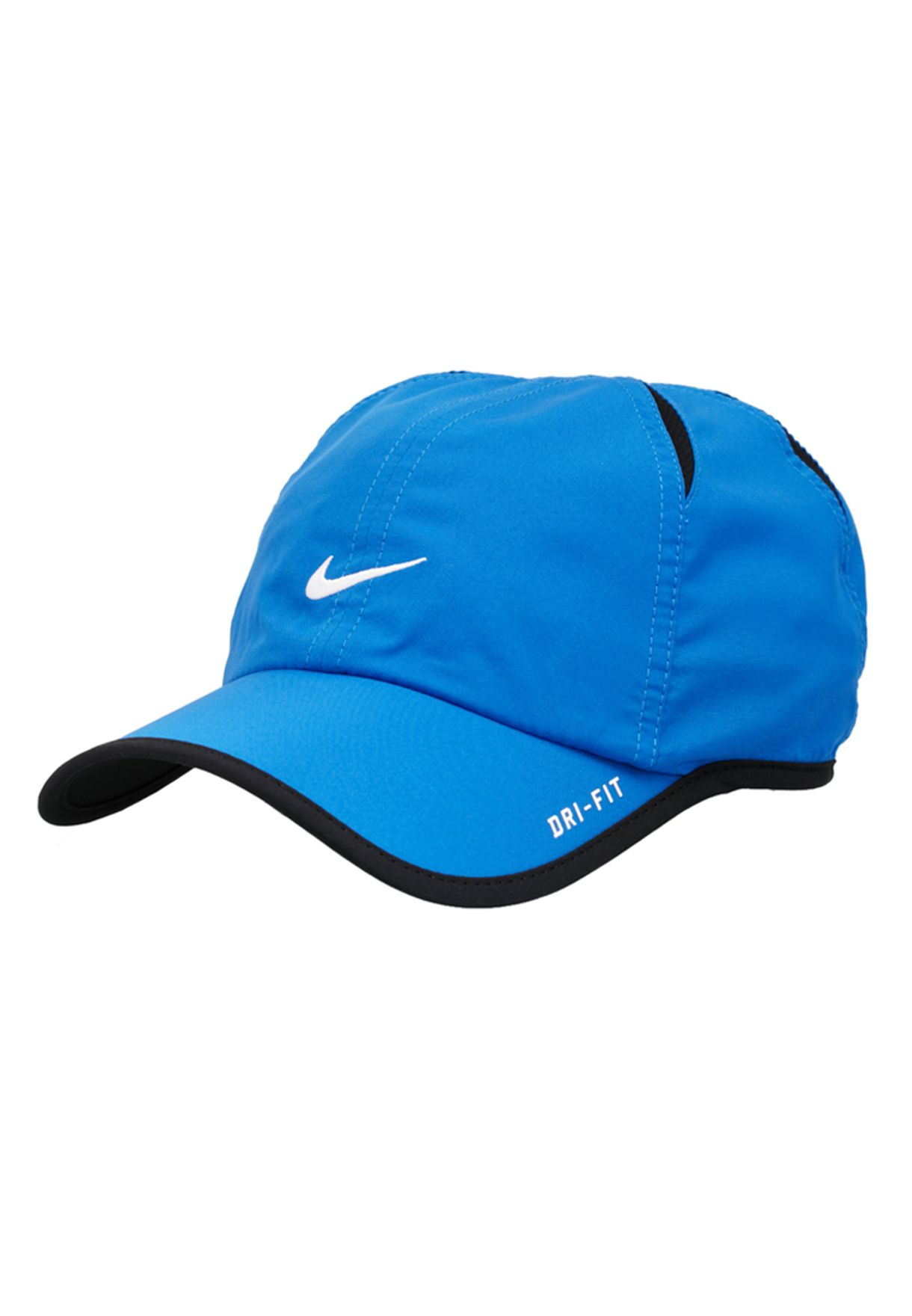 Shop Nike blue Feather Light Cap NKAP595510-447 for Men in Bahrain -  NI727AC66TBL e9c04ce82f41