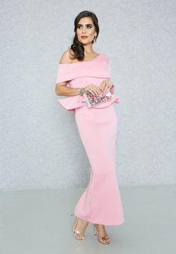 فستان بطبقة بيبلوم
