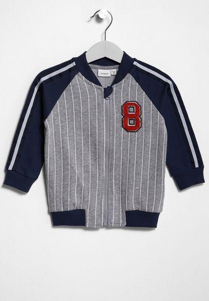 Infant Dirkman Zip Through Sweatshirt