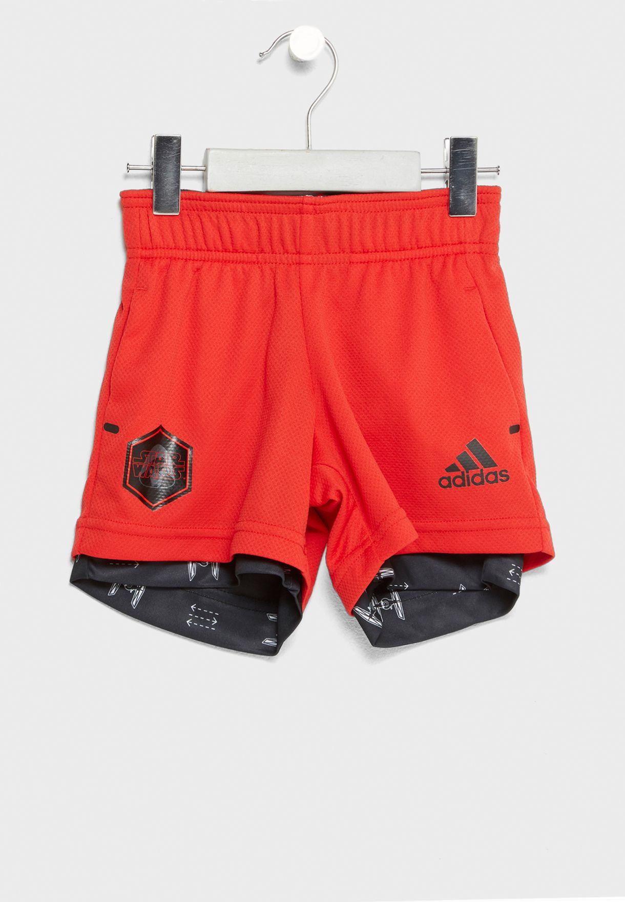 Diverso Suradam esta noche  Buy adidas red Kylo Ren Star Wars Shorts for Kids in MENA, Worldwide    CV5973