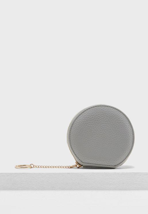Round Coin Purse
