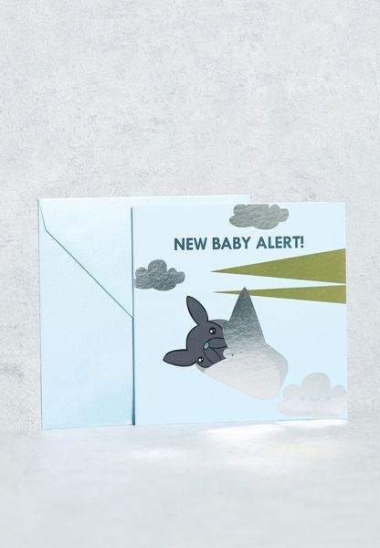 New Baby Alert Card