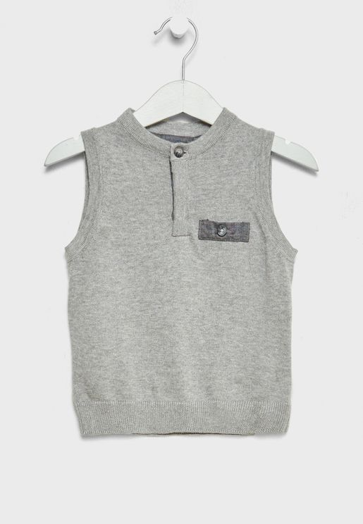 Little Organic Cotton Vest