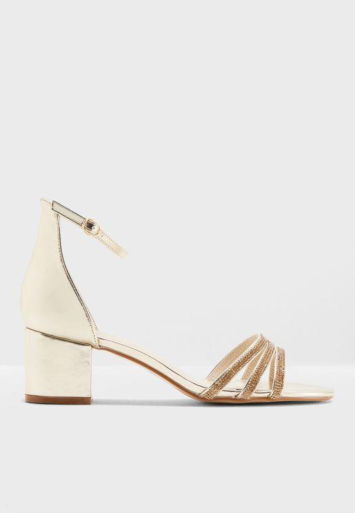 Halli Ankle Strap Sandal