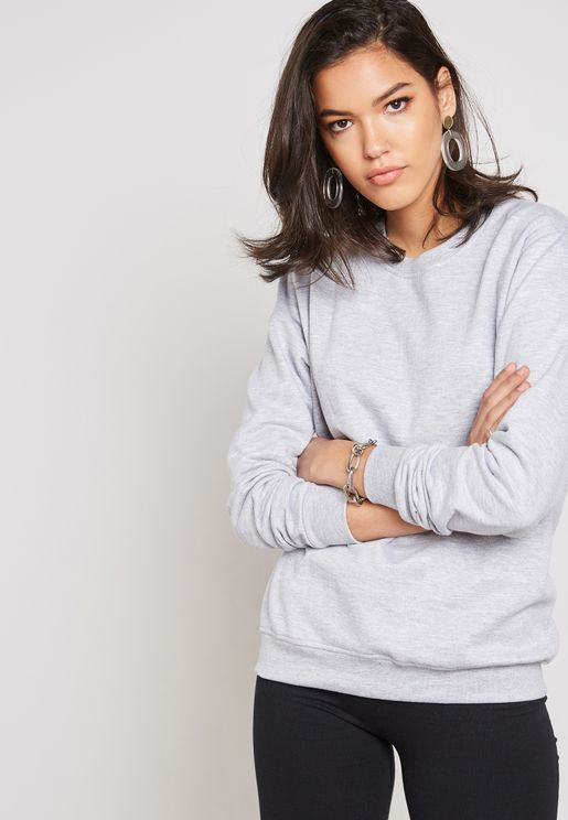 Boyfriend Oversized Sweatshirt