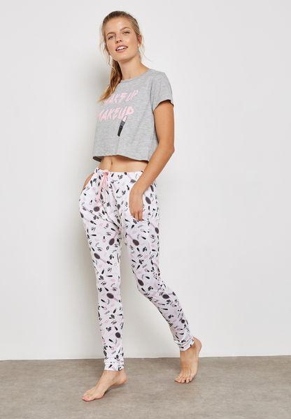 Wake Up Pyjama Set