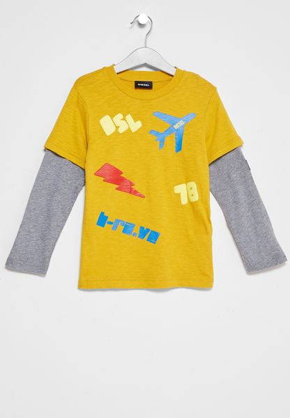 Kids Todlek Printed T-Shirt