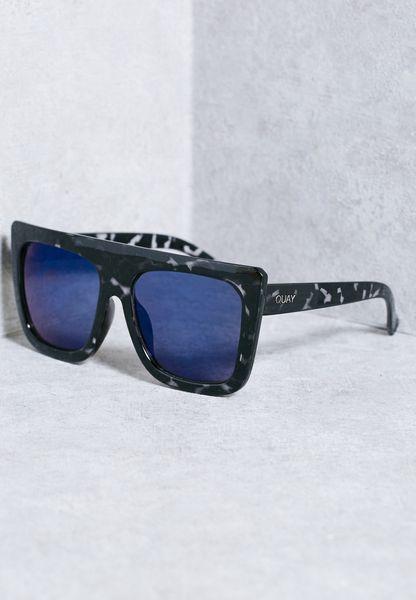 Quay Cafe Racer Qu-000183- Blktort/blue Pekr7Is1N