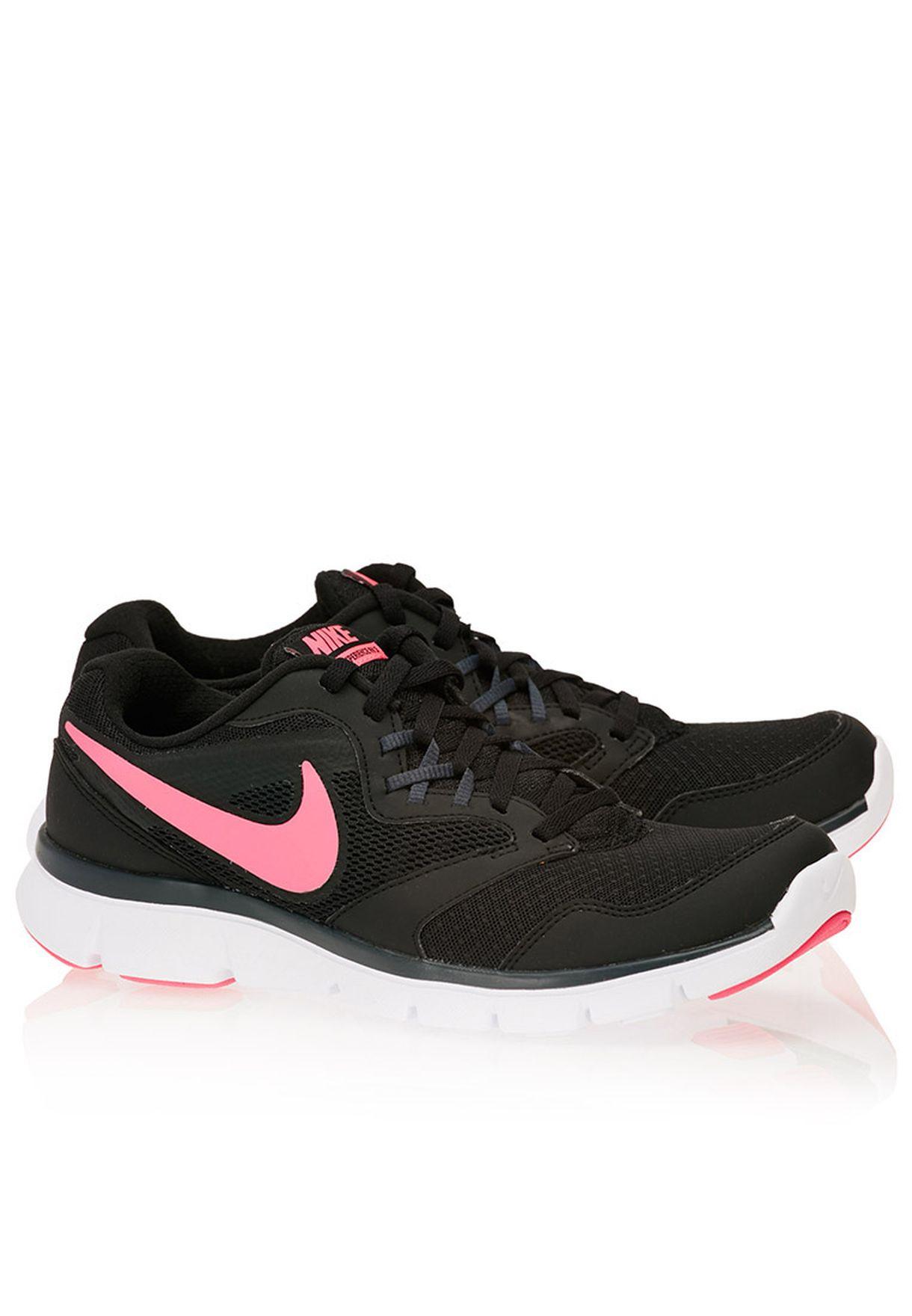 info for cc23b 7fd83 Shop Nike black Flex Experience Run 3 MSL 652858-016 for Women in ...