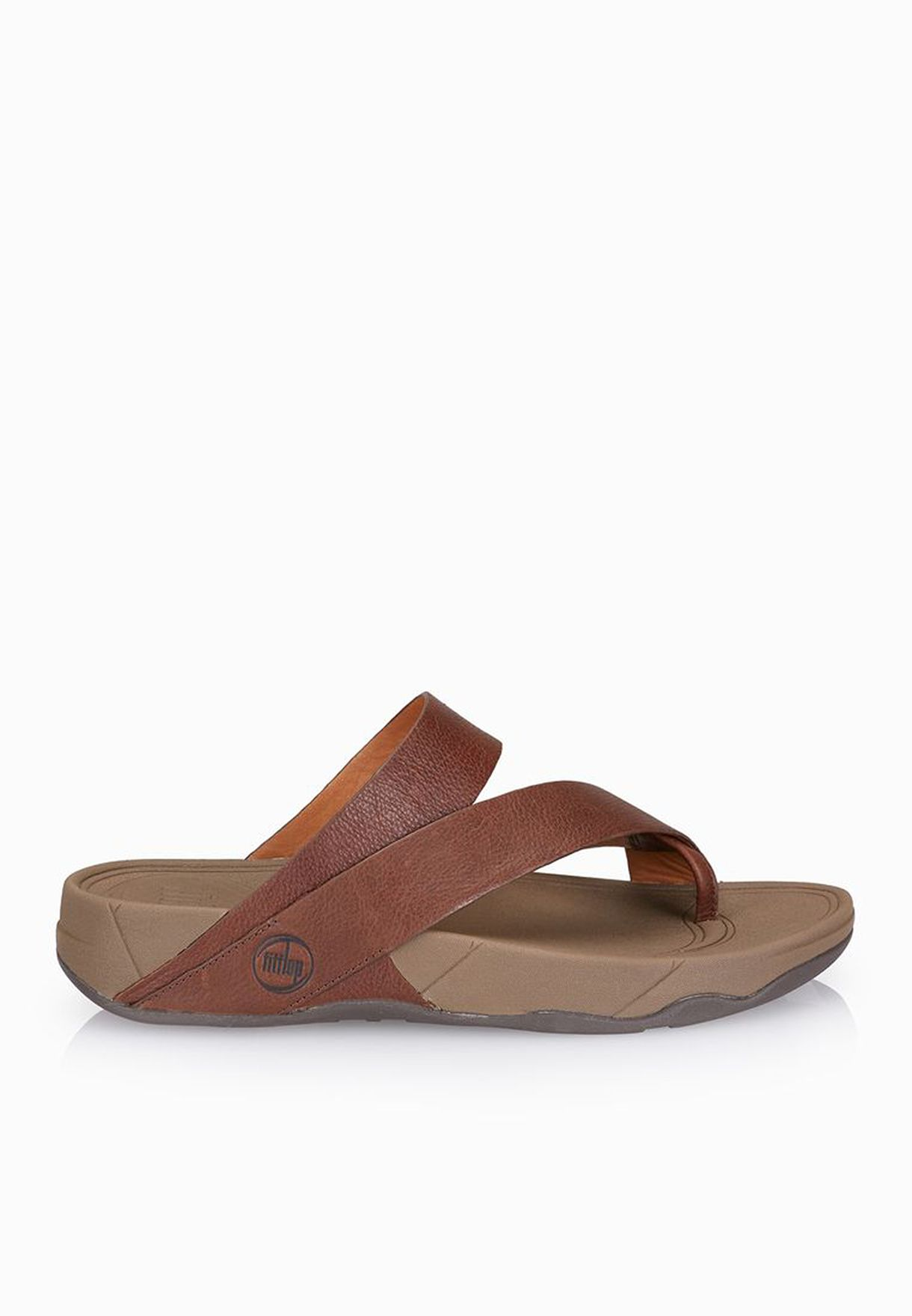 2cc5209ec9813a Shop Fitflop browns Sling M Leather Sandals 218-030 for Men in Qatar -  FI008SH66HZT