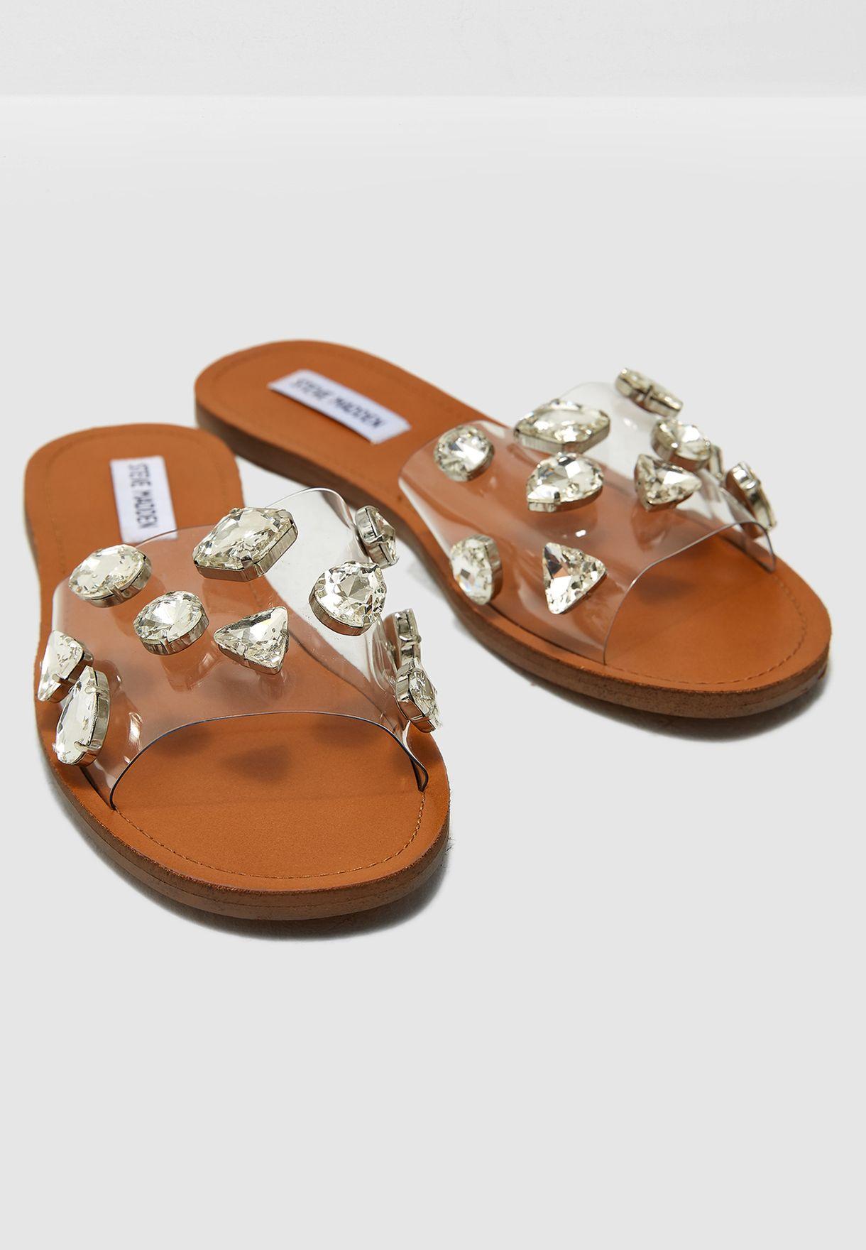 8a77c2235 Shop Steve Madden multicolor Rosalyn Flat Sandal ROSALYN for Women ...