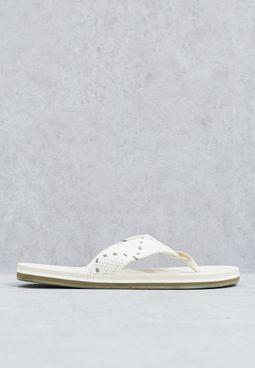 Woven Thong Sandal