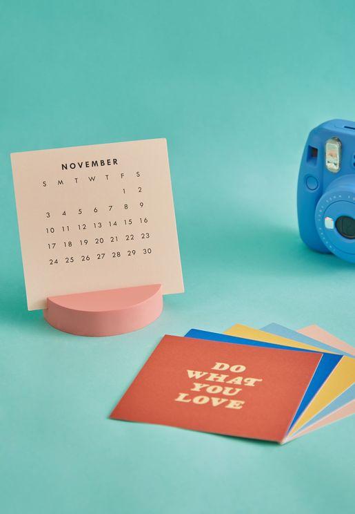 New Year Of Encouragement Desk Calendar