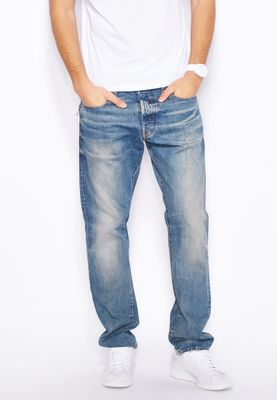 G-Star Raw Rend Tapered Relaxed Mid Wash Jeans