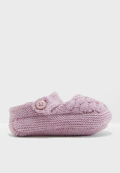 Infant Knitted Slip On