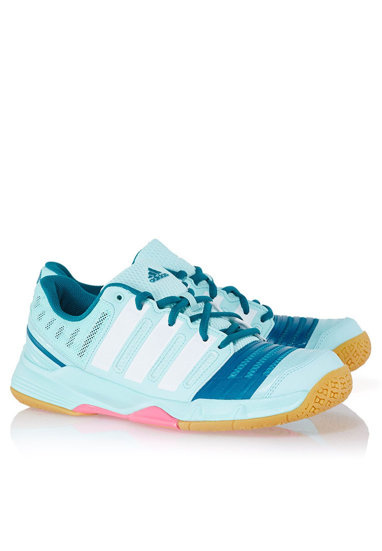 c78afddf36f5 Shop adidas green Court Stabil 11 W Sneakers M17490 for Women in ...