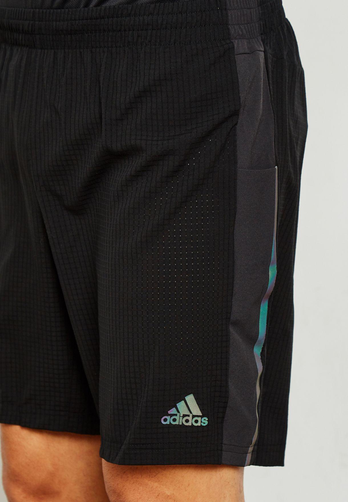 c8d97f357 Shop adidas black Supernova Shorts DN2386 for Men in Saudi ...