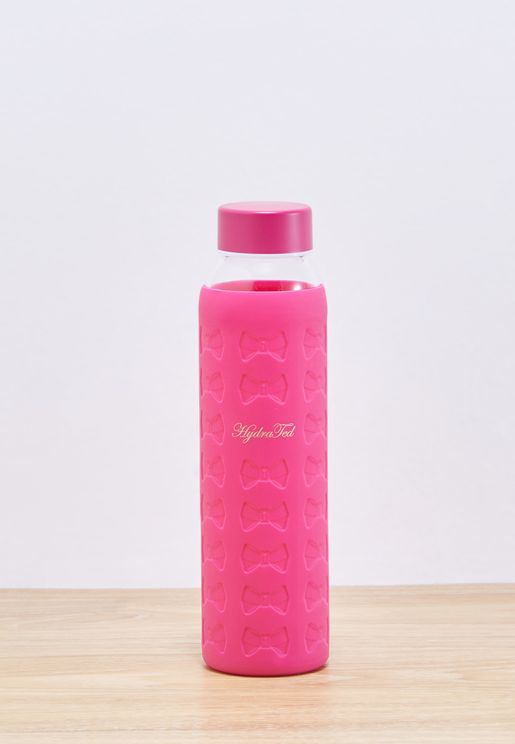 Glass Water Bottle + Silicon Sleeve