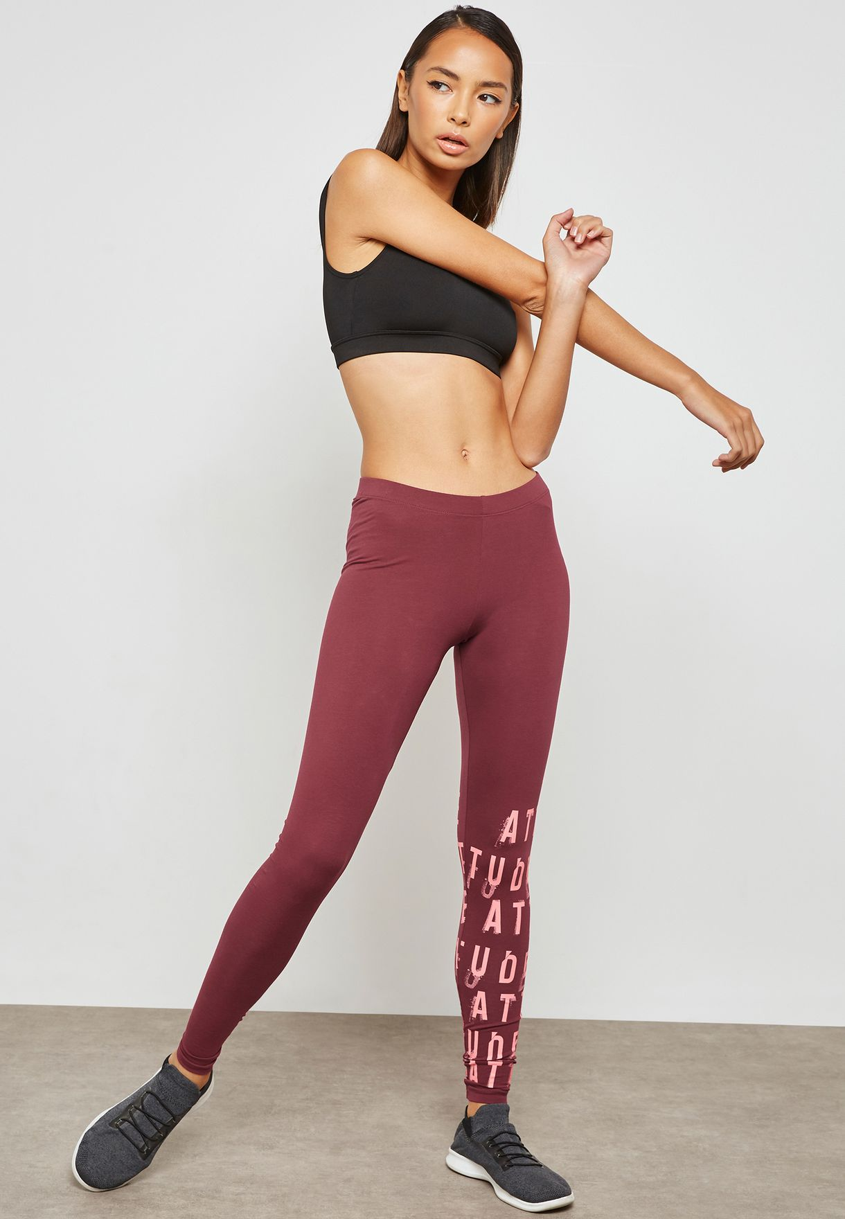 Slogan Leggings