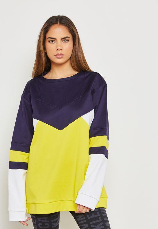 Colour Block Sweatshirt