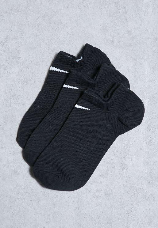 3 Pack Lightweight Socks