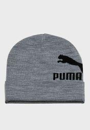 20ed996ef81 Shop PUMA grey Archive Logo Beanie 2179402 for Men in UAE - PU020AC66PNH