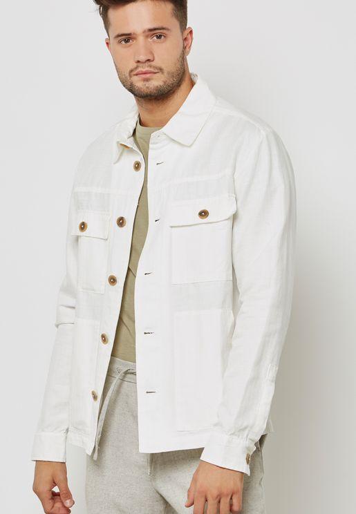 Two Pocket Detail Jacket