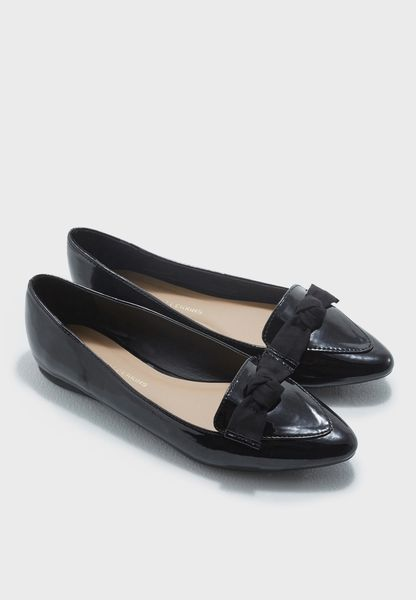 Hayden Bow Pointed Pumps