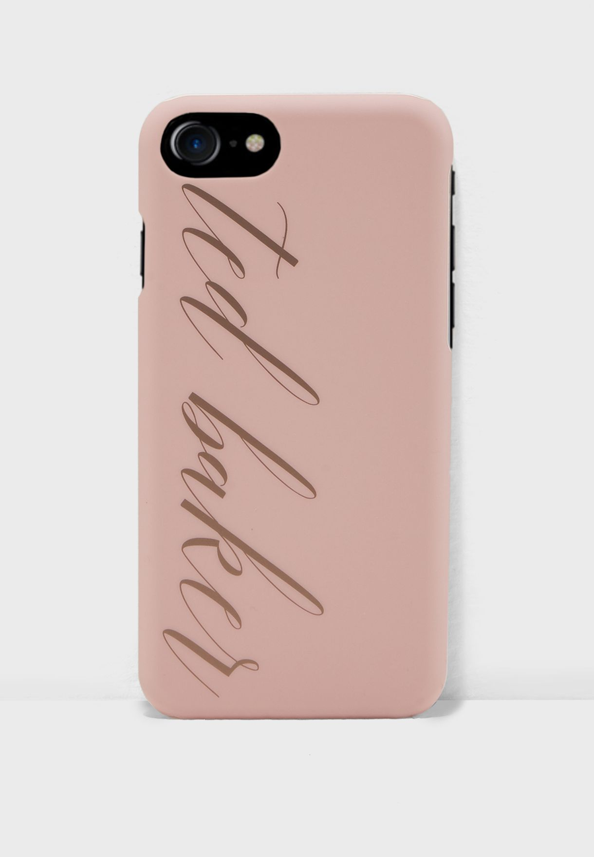 1f0908e69 Shop Ted baker pink Tharese Logo Case for iPhone 6 7 8 142343 for ...