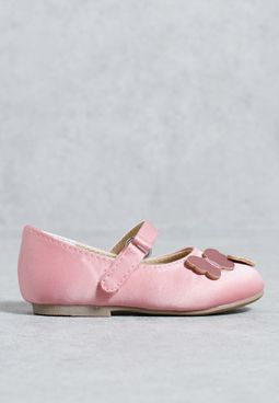 Me Exclusive Acc Tg Pink Bfly Ballet Flat