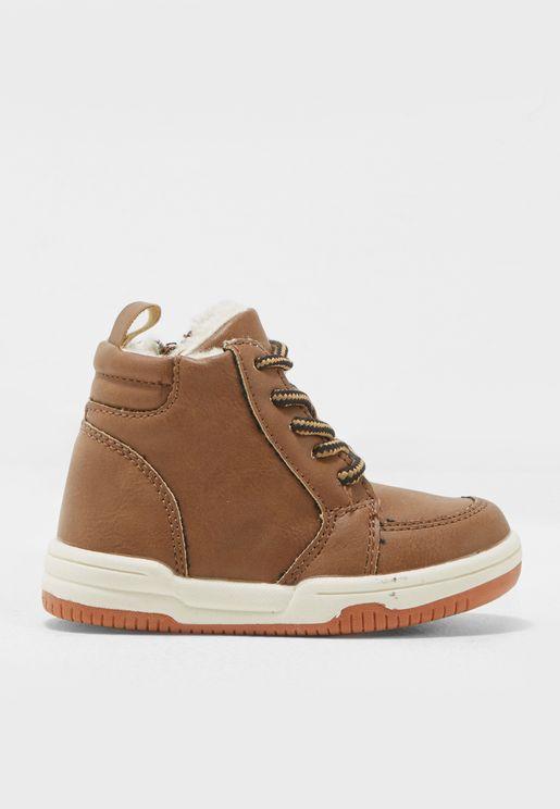 Little PU Boots