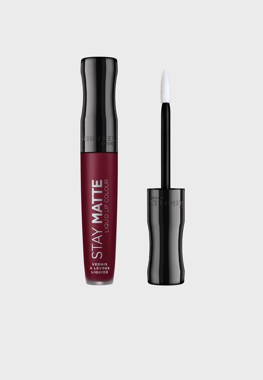 Stay Matte Liquid Lip Colour- 810 Plum This Show